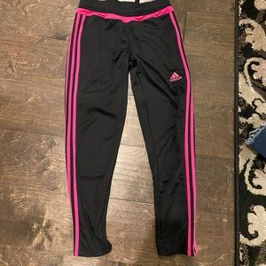 Adidas cropped joggers